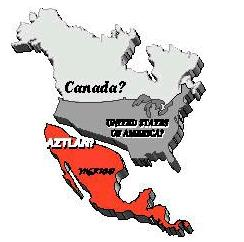 MAP of la raza