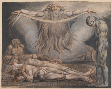 The House of Death 1795-c. 1805 by William Blake 1757-1827
